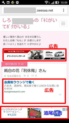 seesaaブログ 記事 ファーストビュー